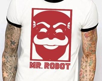 MR. Robot ringer tee