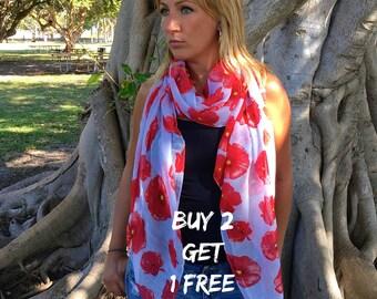 Spring Scarf / Summer Scarf / Fashion Scarf / Boho Scarf Shawl / Women's Scarf / Gifts For Her / Scarfs / Women Scarves