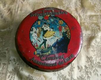 Vintage Macintosh's Carnival Tin