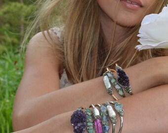 Unique Gift for Mom, Gift for Girl, Bracelet, Personalized Gift for Mom, Christmas Gift for Teen Girl, Birthstone Jewelry Bracelets