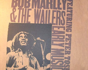 Bob Marley / Wailers / Peter Tosh Vinyl LP! Authentic Vintage 1977! Bob Marley ~ Early Music Calla Records ZX 34760 Near Mint Vinyl/Sleeve
