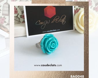 Ring Rose - Blue