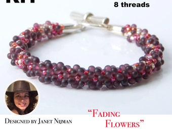 KIT Kumihimo bracelet 8 Strands bracelet