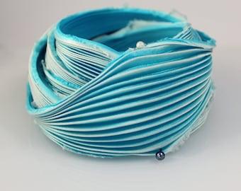 30cm Shibori Silk Ribbon Handmade Silk ribbon #