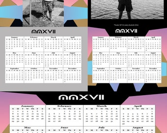 11x17 calendar etsy for 11x17 poster template photoshop