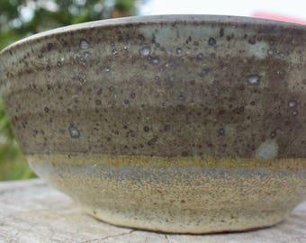 Thrown Ceramic Bowl