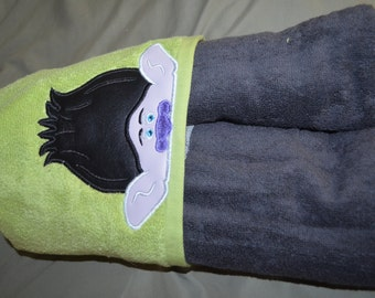 Trolls Branch inspired Hooded bath Towel