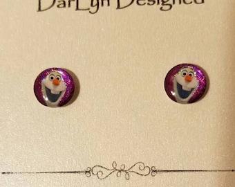 Olaf magnetic earrings