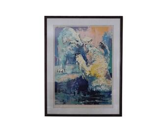 """LeRoy Neiman """"Polar Bears"""" - Serigraph"""