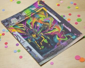 Shoreditch Wall Art Postcard