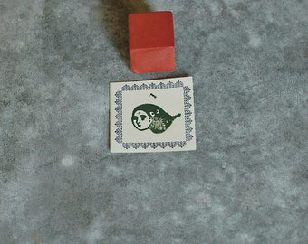 Seiko Okada Let wind blows Ceramic Stamp
