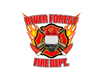 Fire Department Car Decal-personalized, custom made, fire dept, firemen, public safety