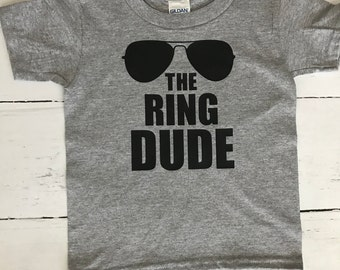 The Ring Dude T-shirt - Ring Bearer