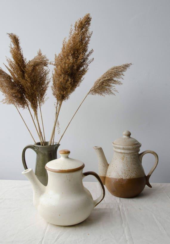 Ceramic Teapot, Vintage pottery