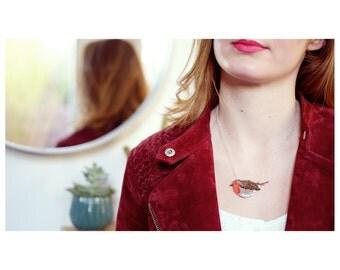 Necklace Robin   —   Hello Birdie!