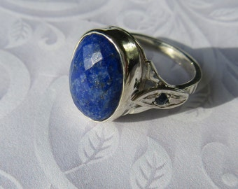 Lapis Lazuli, Lapis Lazuli Jewelry, Lapis Lazuli Ring, Lapis, Lapis Ring, Silver Rings, Silver Lapis Lazuli Ring, Gemstone Ring, Jewelry