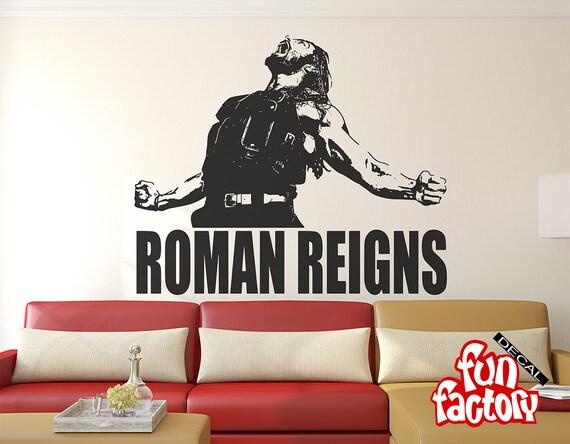 Roman Reigns Wall Decal Sticker Wrestlemania WWE Superstar Part 36