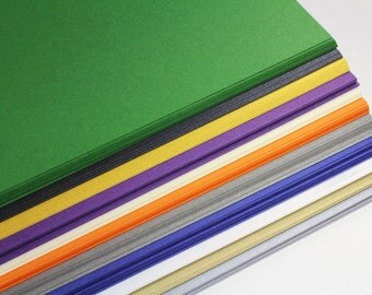 25 - 8 1/2 x 11 Shimmer Card Stock - Letter Size Metallic Card Stock - DIY Invitation Card Stock