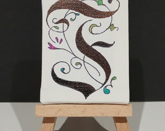 Calligraphy Mini Canvas