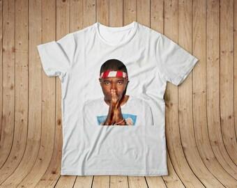 Frank Ocean t-shirt, Cotton t-shirt, All sizes, Women's t-shirt, Printed t-shirt, White t-shirt, Cotton tee