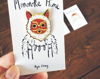 Princess Mononoke Pin