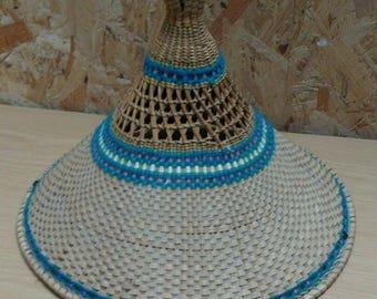 Stunning Statement Vintage Oriental Summer Hat