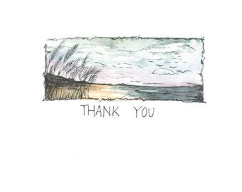 thank you - beach grass