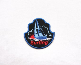 surfing patch  /   windsurfing patch