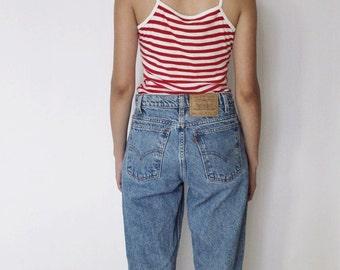 Vintage Levi's 550 Denim Jeans 27   Levis 550 High Waist Denim Jeans   Levis Denim Jeans   Boyfriend Jeans