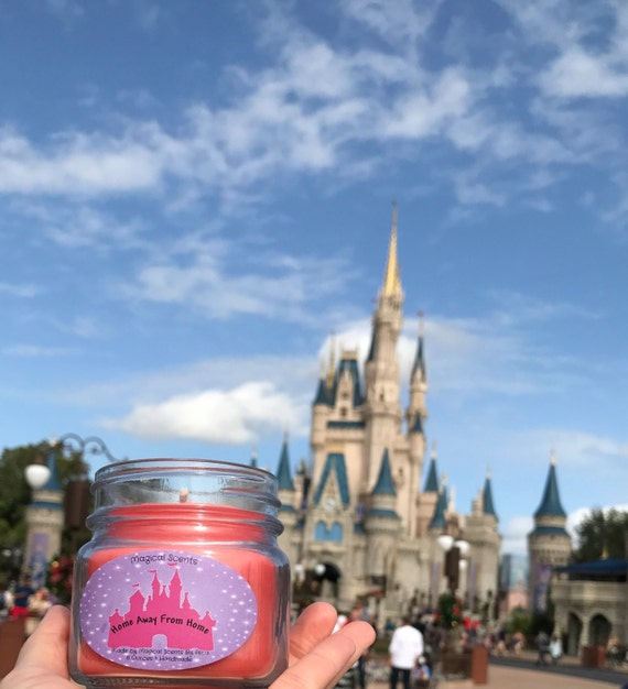 Disney  Candle ~ Home Away from Home.