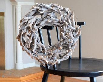 Driftwood Wreath | Summer Wreath for Front Door | Front Door Wreath | Faux Wreath | Housewarming Gift | Artificial Wreath | Outdoor Wreath