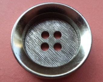 10 buttons silver 20mm (2237) button