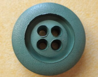 10 dark green buttons 23mm (3365) Green