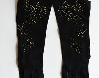 1920s Art Deco Evening gloves