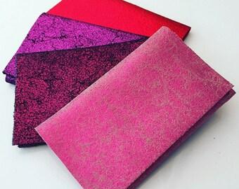 Credit Card Wallet, Statement Card Wallet, Glitter Card Wallet