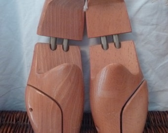 Pair of wood shoe trees