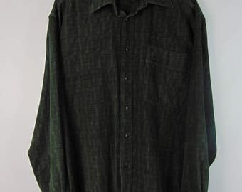 Vintage Dark Green Shirt