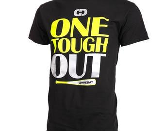 One Tough Out Short Sleeve Softball T-shirt, Softball Shirts, Softball Gift - Free Shipping!
