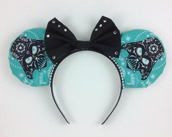 Darth Vadar Mickey Ears, Mickey Ear Handbands, Star Wars Headband, Mickey Mouse Ears