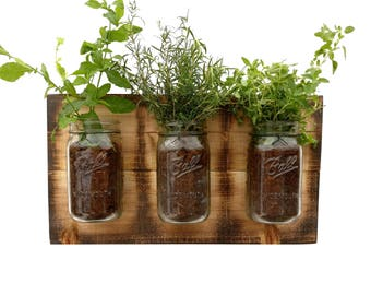 Indoor Herb Planter Entrancing Herb Planter  Etsy Inspiration Design
