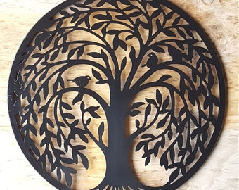 Sale Metal Wall Art Metal Wall Decor Metal Tree Wall Art Tree Decor Tree Wall Decor Tree Wall Art Black wall art Black wall decor
