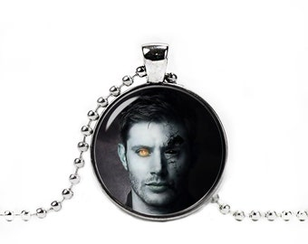 Dean Winchester Supernatural Necklace Pendant Demon Dean Supernatural Jewelry Geeky Fangirl Fanboy