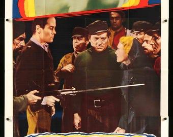 "Blockade (1938) Original R48 Three-Sheet Movie Poster - 41"" x 81"""
