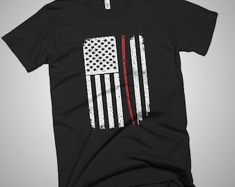 Samurai USA American Flag T-Shirt