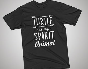 Turtle Spirit Animal T-Shirt