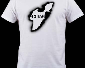 43456 South Bass Island, Ohio Sprayed Shirt