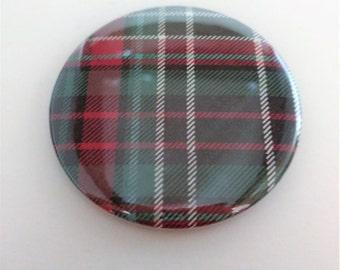 Plaid Pocket Mirror