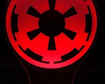 Imperial Cog Star Wars LED Light Display