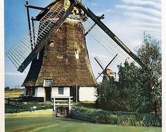 Vintage Netherlands Holland Tourism Poster A3 Print