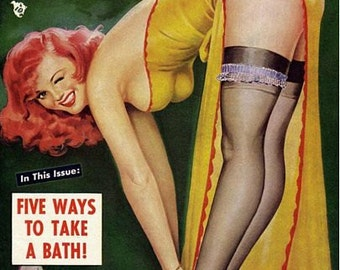 Vintage Eyeful Magazine Cover Pinup Poster  A3 Print